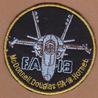 AC - TURKISH AIR FORCE - McDONNELL DOUGLAS F/A - 18 HORNET PATCH - Patches