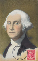 D26363 CARTE MAXIMUM CARD 1945 USA - PRESIDENT GEORGE WASHINGTON CP ORIGINAL