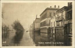 75 - PARIS - 12 ème - Quai De Bercy -  Inondations 1910 - Arrondissement: 12