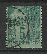 BENIN - YVERT N° 4 OBLITERE - COTE = 40 EURO - - Oblitérés