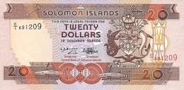 Solomon Islands 20 Dollars 1996 Pick 21 UNC - Salomonseilanden