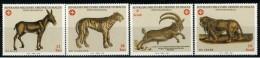 """*B10* -  SMOM 2002 - Tavole Degli Antichi Testi. Tratte Da """"Historia Animalium"""" - 4 Val. MNH** - Perfetti - Malte (Ordre De)"""