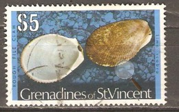 St Vincent & Grenadines 1974 SG 52a  $5. Rough File Clam Fine Used