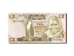 Zambie, 2 Kwacha, 1980-1986, Undated (1980-1988), KM:24c, NEUF - Zambia