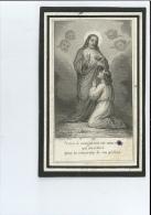 ZUSTER PELAGIE V VAN BREETWATER ° DROGENBOS 1856 KLOOSTER OLV BERMHERTIGHEID MECHELEN + WAMBEEK ( TERNAT ) 1893 - Devotion Images