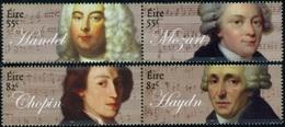 2009 - IRLANDA / IRELAND - ANNIVERSARI MUSICISTI / ANNIVERSARIES MUSICIANS. MNH - Nuovi