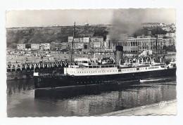 CPSM Boulogne-sur-Mer - 1622 - La Malle Sortant Du Port. - Boulogne Sur Mer