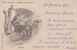 L'ARMEE FRANCAISE - LES POMPIERS 1899 - Sapeurs-Pompiers