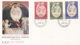 Vaticaan - FDC 06-03-1969 - Ostern/Pasen - Michel 544 - 546 - Pasen