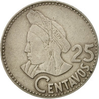 Guatemala, 25 Centavos, 1979, TB+, Copper-nickel, KM:278.1 - Guatemala