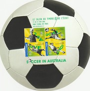 AUSTRALIE 2006 - Coupe Monde Football - Bloc Rond - Surchargé Salon Timbre PARIS