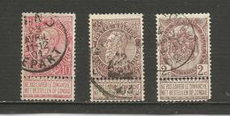 Léopold Ier  Et Armoiries Année 1893/1900 - Belgique