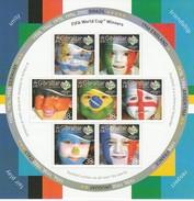 GIBRALTAR 2006 - Coupe Monde Football - Vainqueurs Des Différentes éditions