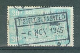 """BELGIE - OBP Nr TR 256 - Cachet  """"TISSELT-BLAASVELD"""" - (ref. AD-6725) - Chemins De Fer"""