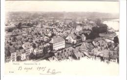 Namur-1905-Panorama N°3-Musée D'Archéologie-Porte Sambre Et Meuse-Grognon-Rue Des Brasseurs-Pas Courante-Edit. Romedenne - Namur