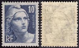 FRANCE  1945  -  Y&T   726  - Marianne De Gandon   10f  -  NEUF **  -  Cote 1.60e