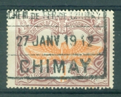 "BELGIE - OBP Nr TR 41 - Cachet  ""CHEM. DE FER DE CHIMAY - CHIMAY"" - (ref. AD-6731) - 1895-1913"