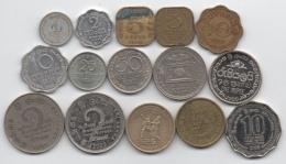 Sri Lanka : Lot De 15 Pièces Différentes 1944-2011 - Sri Lanka