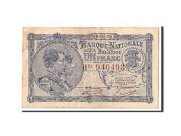 Belgique, 1 Franc, 1920, KM:92, 1920-04-09, TB+ - [ 2] 1831-... : Regno Del Belgio