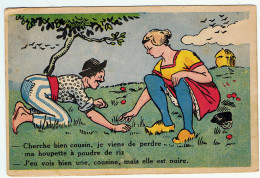 Histoire D´une Houpette à Poudre De Riz !... - Humour