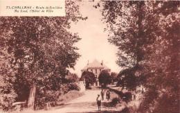 ¤¤  -    71   -   CHALLANS   -  Route De Soullans  -  Au Fond , L'Hôtel De Ville   -   ¤¤ - Challans