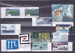 ISLANDE   : Y&T:lot De 13 Timbres ** - Collections, Lots & Séries