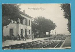 CPA 6 - Chemin De Fer La Gare PASSAVANT 70 - Autres Communes