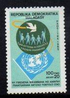 1985 Madagascar UN Anniversary  Complete Set Of 1  MNH - Madagaskar (1960-...)