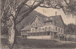 KURHAUS TSCHUDIWIESE, FLUMS, MILITÄRSTEMPEL - SG St. Gall