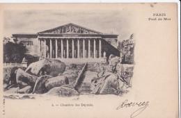Carte 1900 PARIS / PORT DE MER / CHAMBRE DES DEPUTES - Frankreich