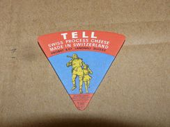 Cheese Queso Kase Label Etikette Etiqueta ~1920-1950 Tell Swiss Process Cheese Langnau Suisse - Quesos