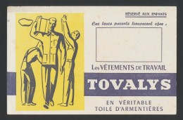 Buvard  -  TOVALYS - Vetements De Travail - Blotters
