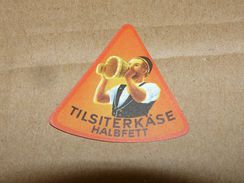 Cheese Queso Kase Label Etikette Etiqueta ~1920-1950 Tilsiterkase Halbfett Tilsiti - Quesos