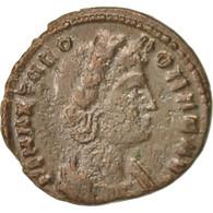 Theodora, Nummus, 340, Trier, TTB+, Cuivre, RIC:65 - 7. El Imperio Christiano (307 / 363)
