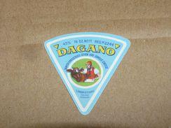 Cheese Queso Kase Label Etikette Etiqueta ~1920-1950 Dagano Danish Gouda Samsoe Odense Denmark - Quesos