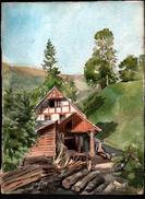 AQUARELLE 385 X 280 Mm, ARTISTE: MATHILDE CAUDEL DIDIER ( BENEZIT ), SUISSE, GRINDELWALD, 1906 - Aquarelles