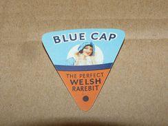 Cheese Queso Kase Label Etikette Etiqueta ~1920-1950 Blue Cap Welsh Rarebit Wales - Quesos