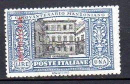 1924 Tripolitanea  Manzoni N. 15 Nuovo MLH* Sassone 90 Euro - Tripolitania