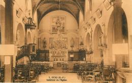 Dép 65 - Pujo - Intérieur De L'église - état - Francia