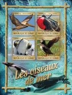 Z08 IMPERFORATED GU16320a GUINEA (Guinee) 2016 Sea Birds MNH - Guinée (1958-...)