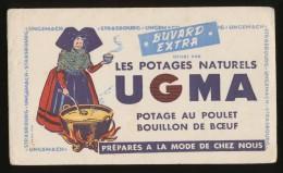 Buvard  - UGMA - Potages Naturels - Blotters