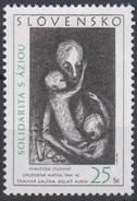 2005 - SLOVACCHIA - SOLIDARIETA' CON LE POPOLAZ. COLPITE DALLO TSUNAMI / SOLIDARITY WITH THE PEOPLE AFFECTED BY TSUNAMI. - Slovacchia