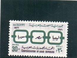 EGYPTE 1971 ** - Poste Aérienne