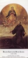 Santino BEATO GIOVANNI DUNS SCOTO Sacerdote Dei Frati Minori - OTTIMO N7 - Religión & Esoterismo