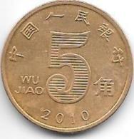 *china 5 Jiao 2010  Km 1411  Unc - Chine