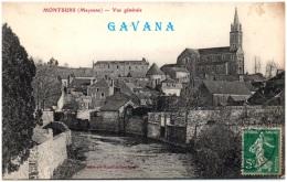 53 MONTSURS - Vue Générale - Francia
