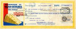 HAUTE SAVOIE.GRUYERES.EMMENTHALS.FROMAGERIE DE CRAN-GEVRIER. - Bills Of Exchange