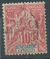 Senegambie Et Niger - Yvert N°5 OBLITERE - Ava3201 - Senegambie Und Niger (1903-1906)