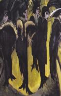 #BV3835  RAPHAEL KIRCHNER, WOMAN,  PAINTING, ART,  EPOCH REPRODUCTION. - Kirchner, Raphael
