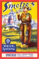 Etiket Etiquette - Genever - Smetje's Oude Klare  - Desmet - Maertens Rumbeke - Etiquettes